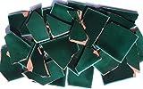 900g Bruchmosaik, Mosaikfliesen aus handgefertigten Fliesen - grün