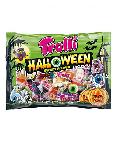 Horror-Shop Halloween Sweet & Sauer Trick or Treat Süßigkeiten Mix