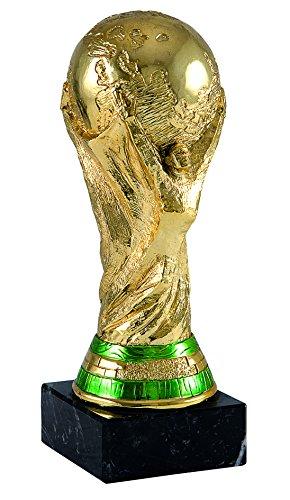 Art-Trophies tp394Trophäe Sport World Cup, Gold, 17cm (Gold Cup)