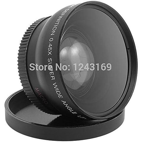 lesilverskys (TM)–0,45x 52mm gran angular lente macro para Nikon