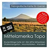 Mittelamerika Garmin Karte TOPO 8 GB microSD. Topografische GPS Freizeitkarte Navigationsgeräte, PC & MAC