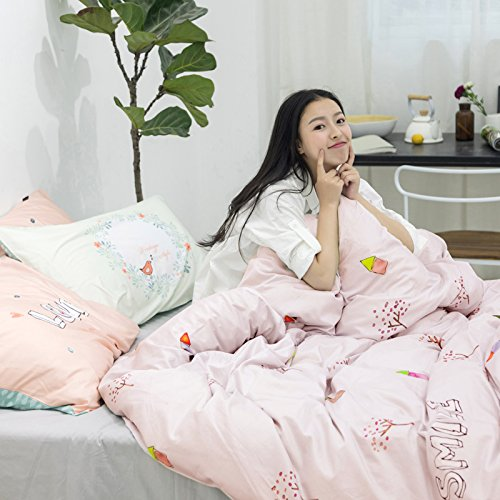 Duvet Cover & Pillowcase Set Bedding King Queen Bedding Bedroom Daybed,H Full -
