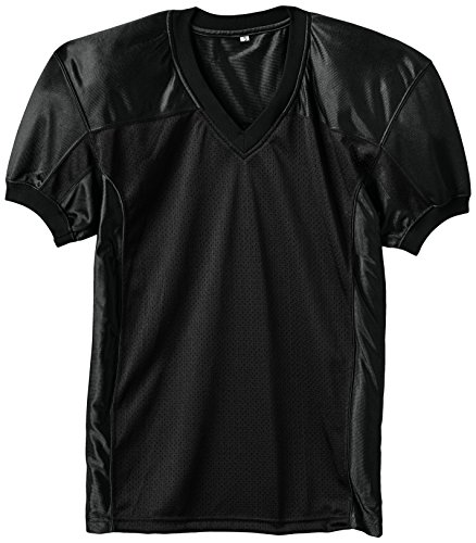 Full Force Herren Trikot Profi Football Shirt Gamejersey BK, schwarz, 2XL, FF0208090214