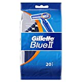 Gillette, Blu II, Set di rasoi usa e getta, 20 pz.