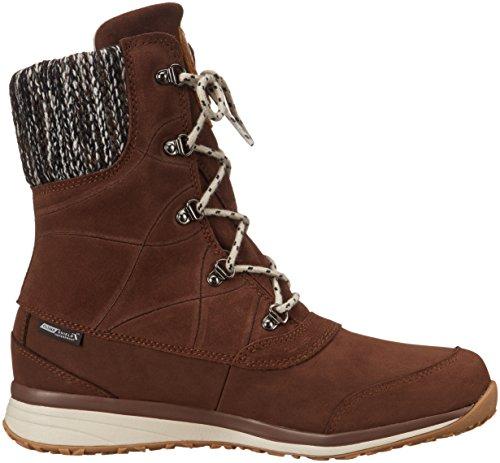 Salomon L37650100, Chaussures de Randonnée Femme Marron