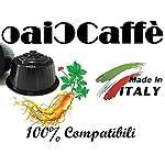 Note D'Espresso Preparato in Polvere per Bevanda al Gusto di Tè alla Pesca, Ginseng e Zenzero con Zucchero di Canna ed…