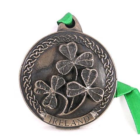 Pendentif En Bronze de Trèfle