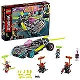 LEGO Ninjago La Macchina Tuner dei Ninja Set di Costruzioni con 4 Minifigure: Digi Kai con Arma di Controllo, 2 Visiere con Pistole e 1 con Scudo, Scott E e Tana Viola, per Bambini +8 Anni, 71710
