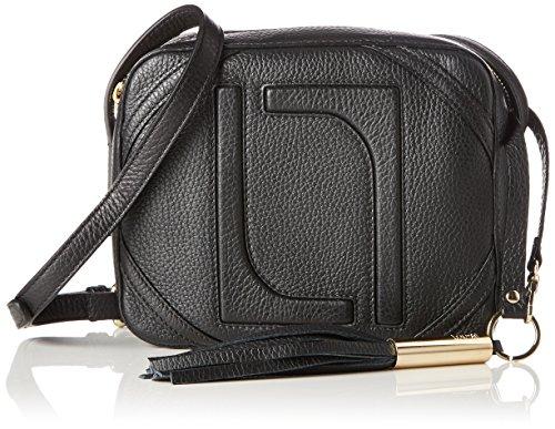 Laurèl Damen Tasche Schultertasche, Schwarz (Schwarz), 7x16x20 cm (Bag Laurel)