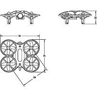 Goolsky Mirarobot S60 RC Racing Drone Quadcopter FPV 600TVL 25mW Coreless Tiny Micro Indoor RC Racing Quadcopter RTF