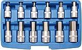 BGS 5052 Bit-Einsatz-Set Innen-6-kant, 12,5 (1/2), 12-tlg