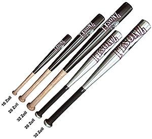 Baseballschläger Holz / Alu Baseball Schläger Bat »Tysonz« 26 Zoll Holz
