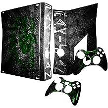 Graffiti Bandera Colección 3, Custom Consola Xbox 360Diseño Pantalla Skin Protector Funda Graffiti Flagge Pakistan Xbox 360 Slim Designfolie