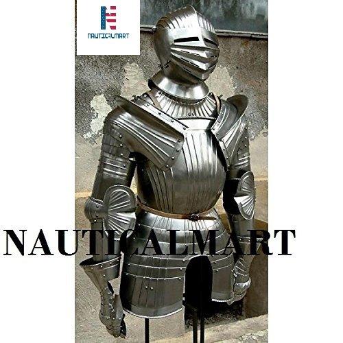 an Hälfte Reenactment Steel Body von Armor (Benutzerdefinierte Halloween Requisiten)