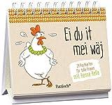Henne Hella: Ei du it mei wäj: 24 Postkarten für tolle Frauen. Aufstellbuch