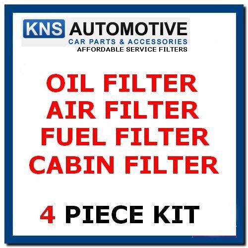 CLK270CDI (02-05) Öl, Kraftstoff, Innenraumfilter & Air Filter Service Kit - Cherokee-zündkerzen 05-grand