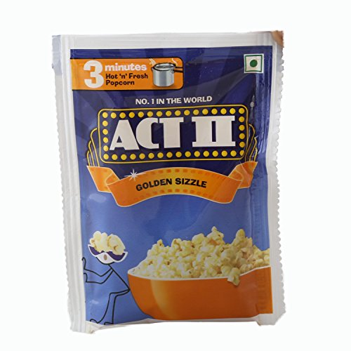 ACT II Instant Popcorn - Golden Sizzle, 40g Pouch