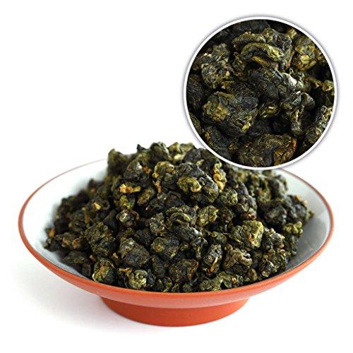 GOARTEA 100g (3.5 Oz) Organic Supreme Taiwan High Mountain Tung Ting TungTing Dong Ding DongDing Wulong Oolong Tea Tee