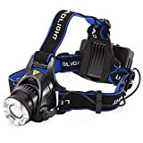 Wolblix High Power 18650 Headlamp 1800LM CREE XM-L T6 LED Hunting Bicycle Camping