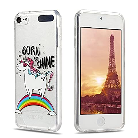 Etui iPod Touch 6, iPod Touch 5 Silicone Coque, RosyHeart
