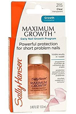 Sally Hansen Maximum Growth 13ml Daily Nail Growth Program