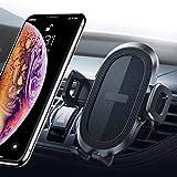 Likinglis - Supporto Universale per Telefono da Auto, con Pulsante di sgancio rapido, Compatibile con iPhone X//XR/XS/XS Max/8/8 Plus, Samsung Galaxy S10/10+/9/9+, Note 9/8, Google e Altri