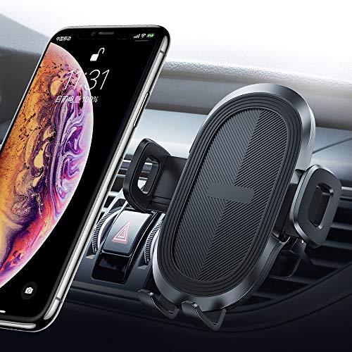 Foto Likinglis - Supporto Universale per Telefono da Auto, con Pulsante di sgancio rapido, Compatibile con iPhone X//XR/XS/XS Max/8/8 Plus, Samsung Galaxy S10/10+/9/9+, Note 9/8, Google e Altri