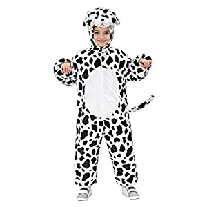 WIDMANN 9762 M Dalmatian Costume ? Jumpsuit with Mask, approx. 44 cm