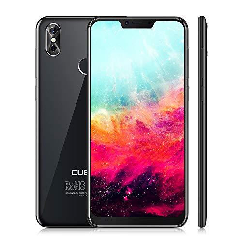 "CUBOT P20 Smartphone 4G LTE ohne Vertrag Phablet mit 6,18"" IPS Bildschirm, 20 MP Rückkamera, Dual SIM Standby, Android 8.0, 4GB RAM + 64GB ROM, Bluetooth 4.0 / GPS/WLAN (Schwarz)"