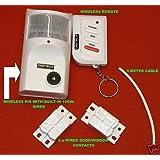 dgt001-new Détecteur de mouvement avec 2x Contact magnétique et télécommande