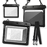 NAmobile Wasserdichte Schutzhülle für eBook Reader Tasche Tolino Vision 1 2 3 4 HD Black Hülle Cover Case Bag Etui