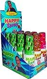 Happy Spray sortiert Apfel,Cola,Erdbeere Liefermenge = 12