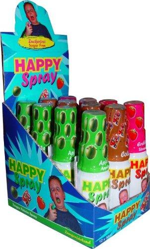 Preisvergleich Produktbild Happy Spray sortiert Apfel,Cola,Erdbeere Liefermenge = 12