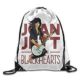 GONIESA Fashion Unisex Gym Bag Joan Jett Gym Drawstring Backpack/Travel Bag