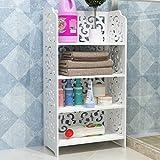 Weißen Regal continental Rack Handtuch mehrschichtigen pastorale Mode wasserdicht Schlafzimmer Badezimmer Regal Handtuch Rack Schuhregal