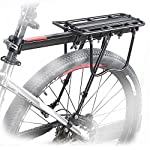 OUTERDO Bike Cargo Racks Bicycle Bike Alloy Rear Rack Seat Carrier Full Quick Release Luggage Protect Pannier