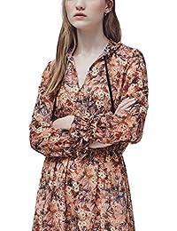 MANGO -Vestido de flores Mujer