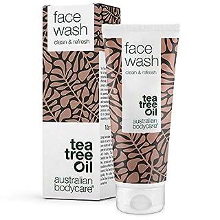 Australian Bodycare Face Wash - Vegane Gesichtswäsche mit natürlichem Teebaumöl - Gegen Pickel, Mitesser und unreine Haut