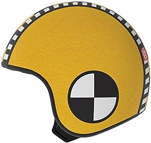 EGG Huevo - cubriendo para un casco niño, modelo SAM, amarillo, tamaño S