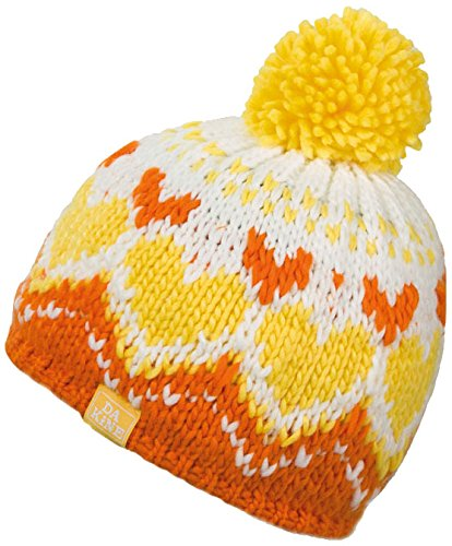 DAKINE Kinder Mütze Molly, Orange, One Size, 8680152 (Jacquard Shell Knit)