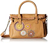Desigual Damen Handtasche Amelie Loverty Camel