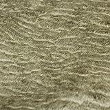 Persianer Lammfellimitat in Graubeige Kurzhaarfell Kurzflor Florhöhe ca. 3-4 mm Plüsch Kunstpelz kuschelig dehnbar glänzend Kunstfell Graubeige