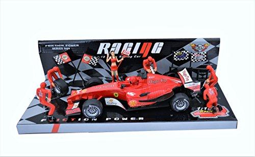 Preisvergleich Produktbild Spielzeug F1 2017 Toys Spielzeug für Jungs Rennwagen Modell Auto on race Racing Cars Race Track Sets Rot 1:18 [26 ] Knder Spielzeug Garage Spielzeug Cars Spielzeug Jungen Spielzeug