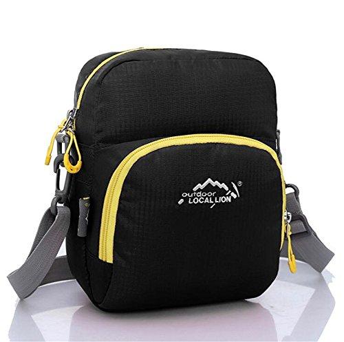 Wmshpeds La moda per il tempo libero borsa Messenger mini multi-funzionale sacchetto esterno femmina borsa sportiva C