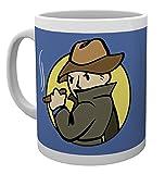GB eye Fallout Kaffeebecher Mysterious Stranger weiß