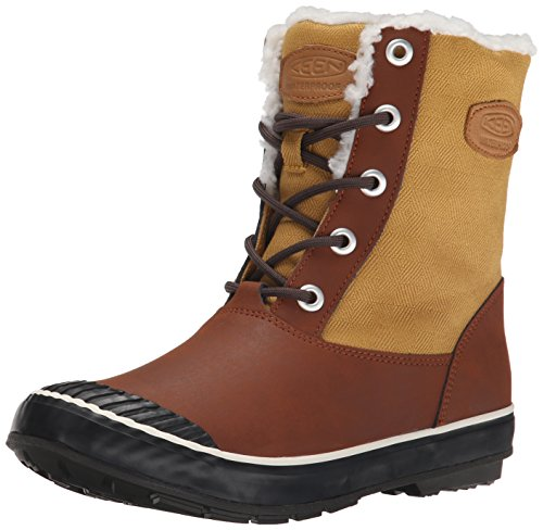 Keen Elsa Boot WP Donna US 5 Marrone Stivale da Neve
