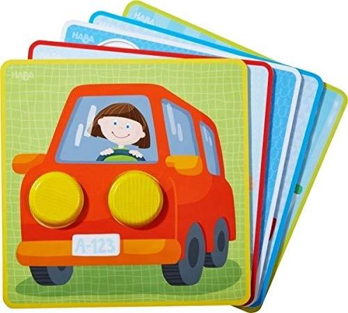 Haba Zuordnungsspiel - Kunterbunte Fahrzeug-Welt
