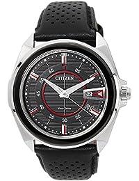 Citizen Eco-Drive Analog Black Dial Men's Watch - AW1060-08E