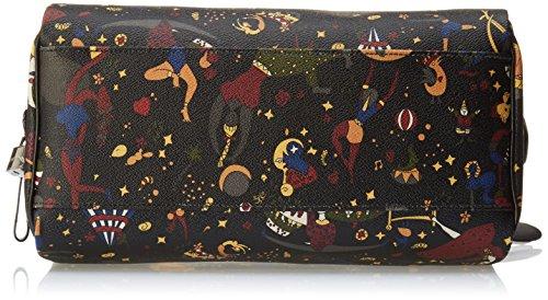 Piero Guidi Damen 2167d4088 Shopper, 31x20,5x16,5 Cm Schwarz (nero Profondo)