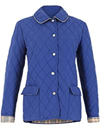 David Barry-Womens Diamond Quilted Jacket
